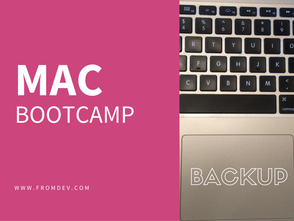 How To Backup Mac Boot Camp Hard Drive Partition? | FromDev