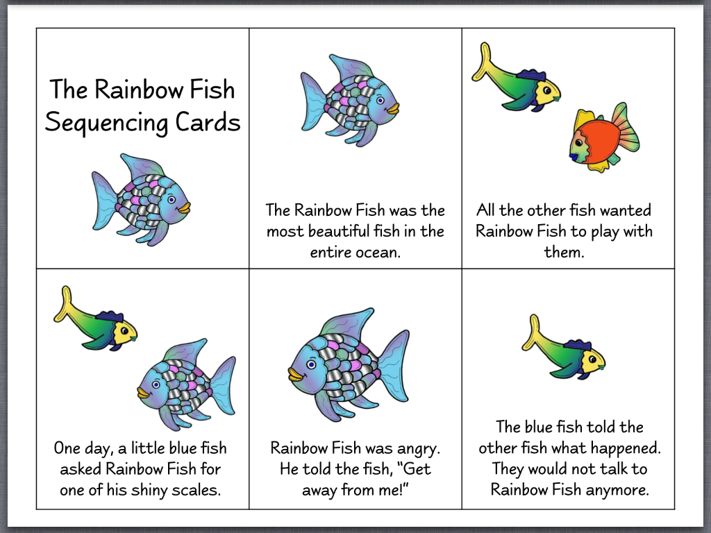 Let 39 s talk with whitneyslp the rainbow fish for The rainbow fish