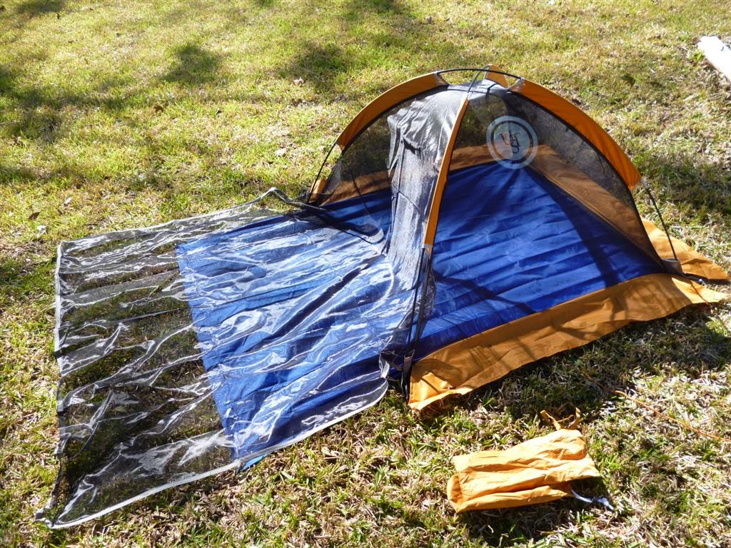Ultimate Survival Technologies Base Bug Tent & Stealth Survival : Riverwalkeru0027s Gear - UST Bug Tent and Tarp ...