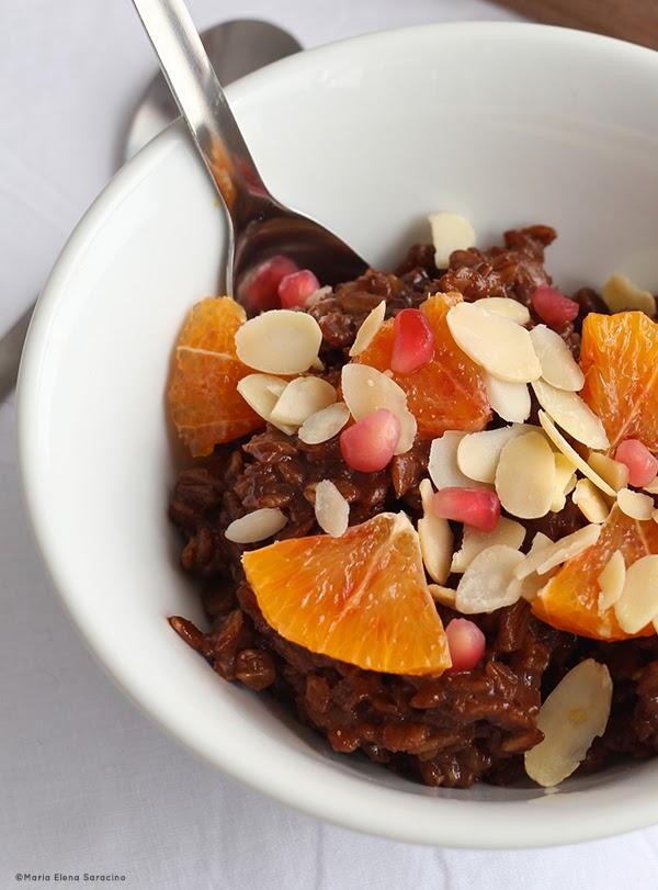 Se questo è un uovo - Porridge cacao e arance