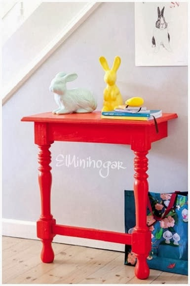 El minihogar for Mesa para recibidor