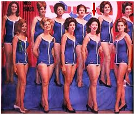 Candidatas a Miss Universo Brasil 1962