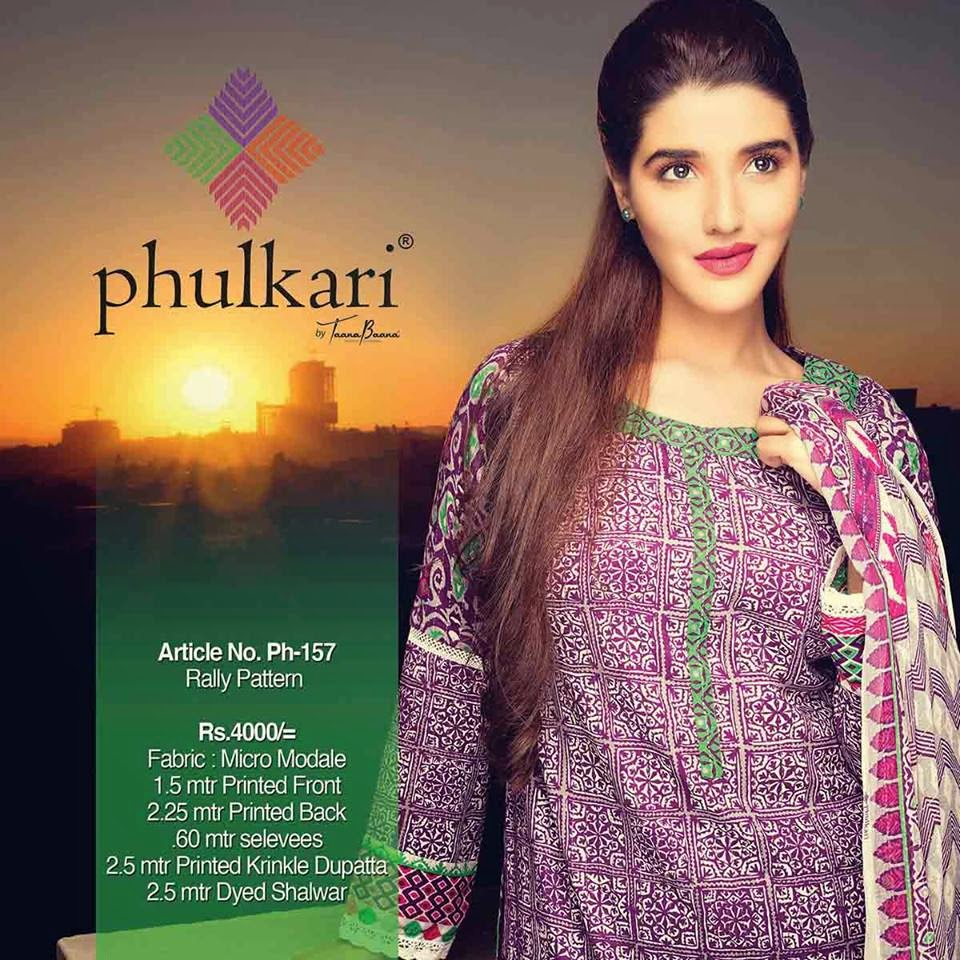 Phulkari Winter Dresses Collection 2014-2015 by Taana Baana
