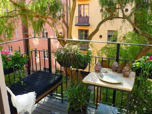 Bohemian Balkon Inrichting : Inrichting balkon. elegant balkon inspiratie verlenging woonkamer in