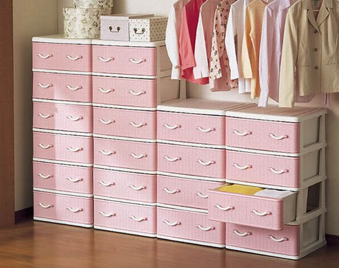 cute shelving storage system design