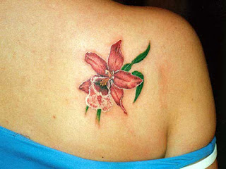 Big Flower Tattoos Designs