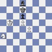 Final de ajedrez de la partida Tigran Petrosian - Miguel Albareda