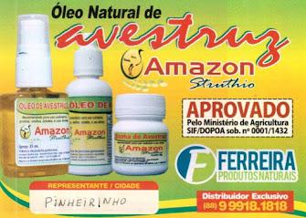 ÓLEO NATURAL DE AVESTRUZ