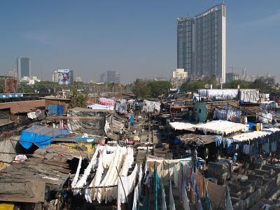 Bombay - Lavandrie di Mahalaxmi Dhobi Ghat