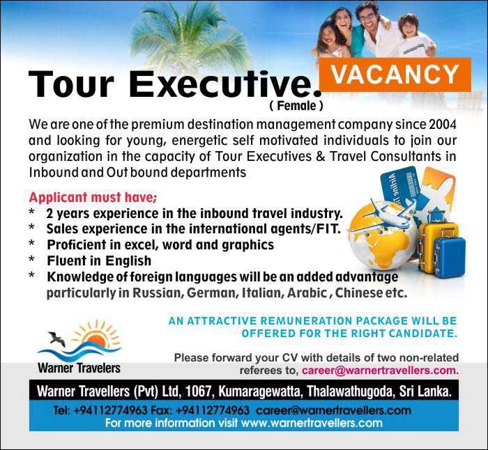 Tour Executive ( Female )