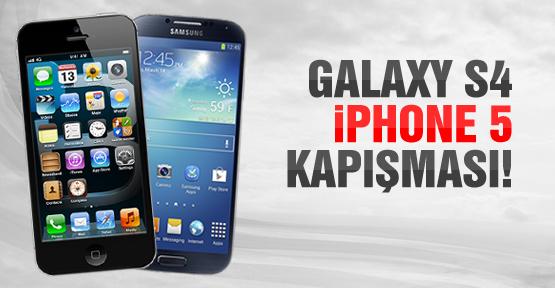 Samsung galaxy s4 ve ip hone 5 karşılaştırması