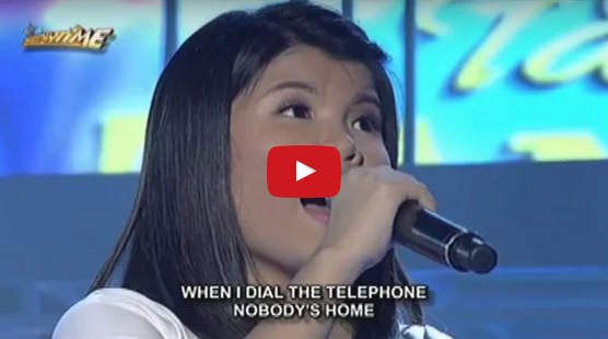 "Young Filipina Sings ""All By Myself"" Flawlessly With Total Control"