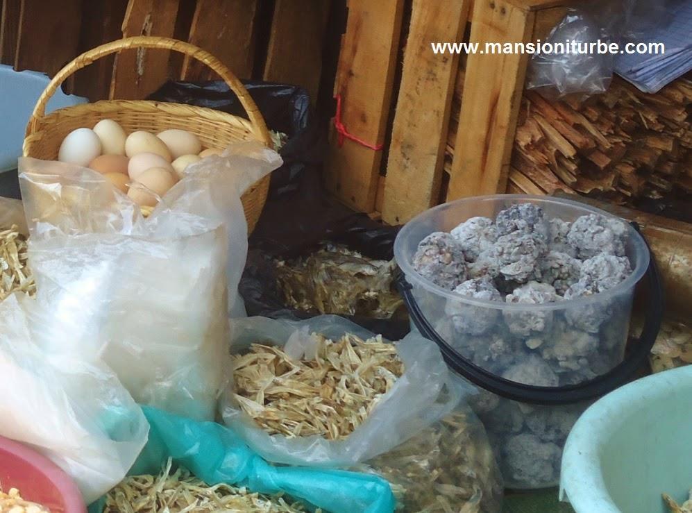 Productos locales en los mercados de Pátzcuaro