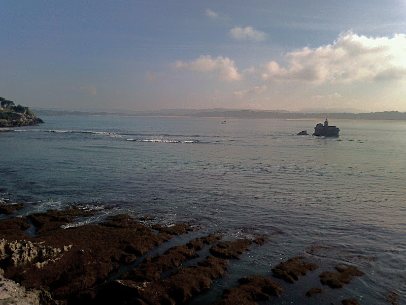 entrada a la Bahía de Santander