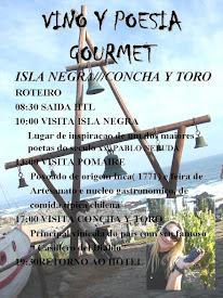 GOURMET.- VINHO E POESIA