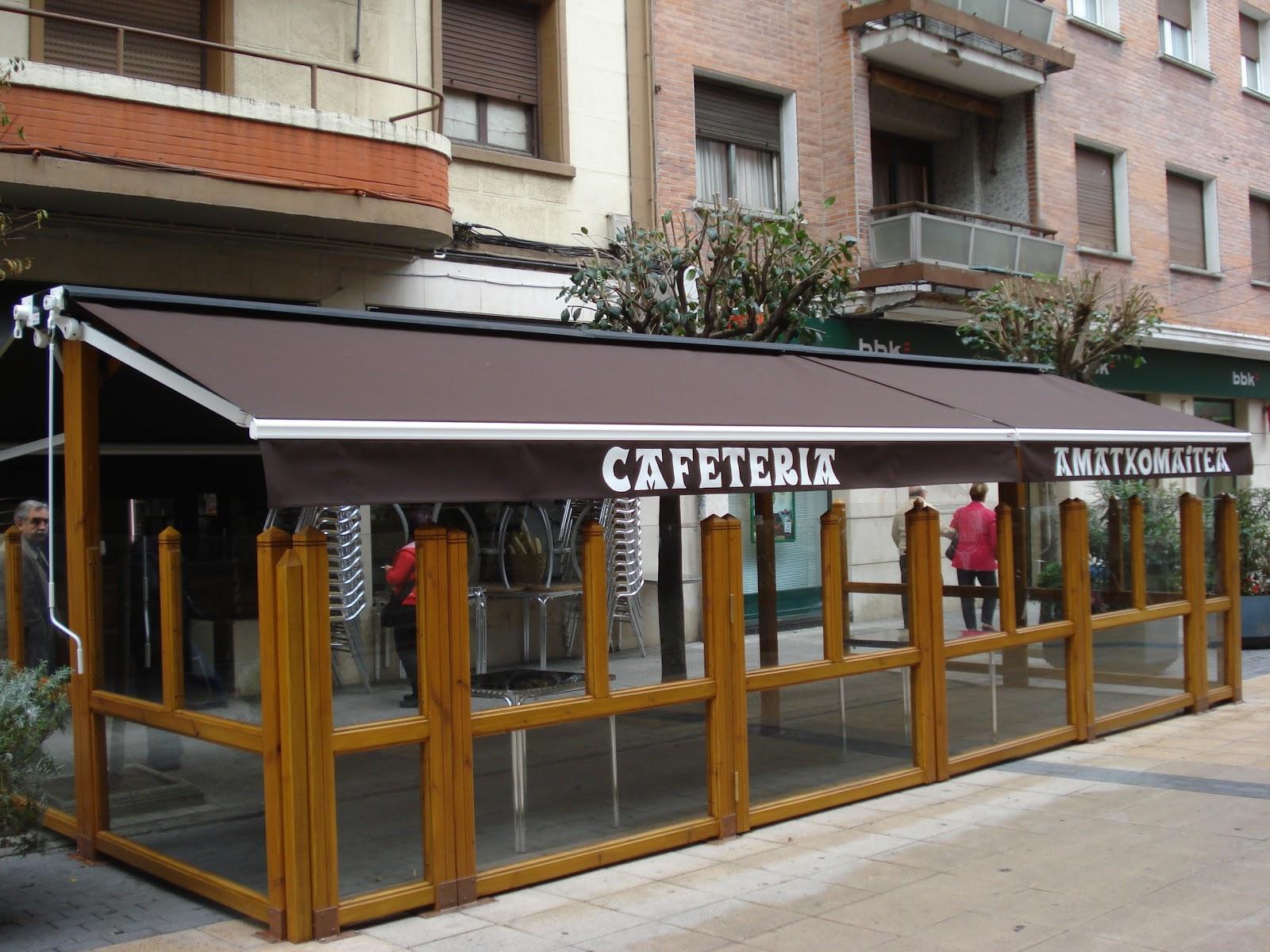 Terrazas climatizadas para hosteleria galeria de terrazas - Toldos terrazas bares ...