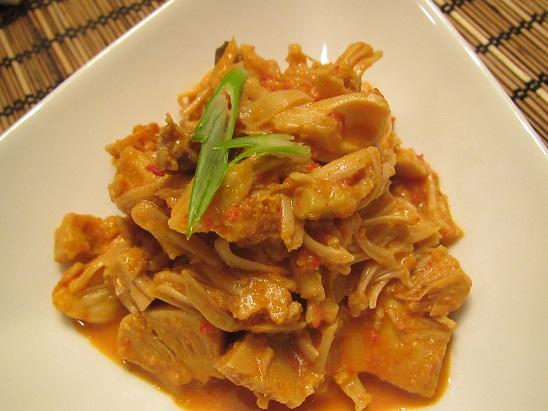 Indonesian Stew Young Jack Fruit (Gudeg Nangka)