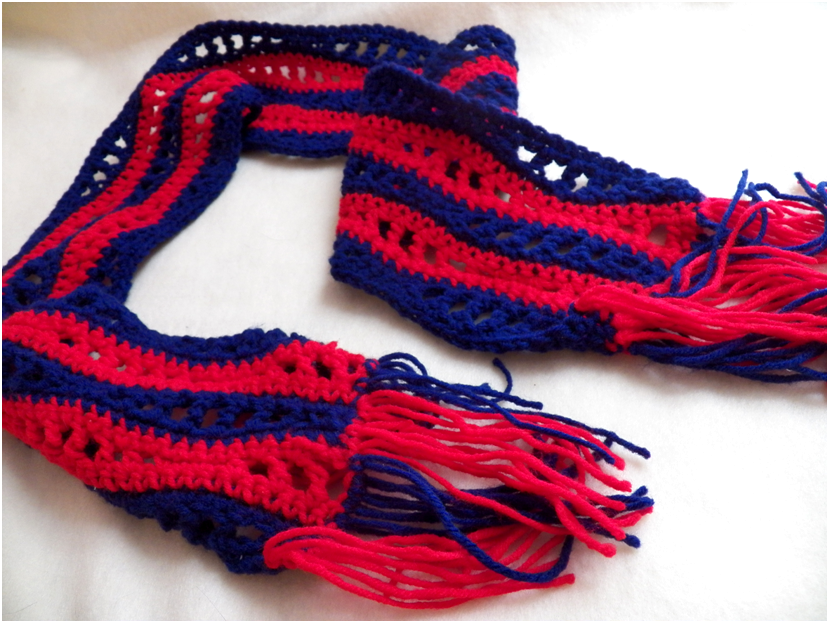 threads monday project special olympics scarf