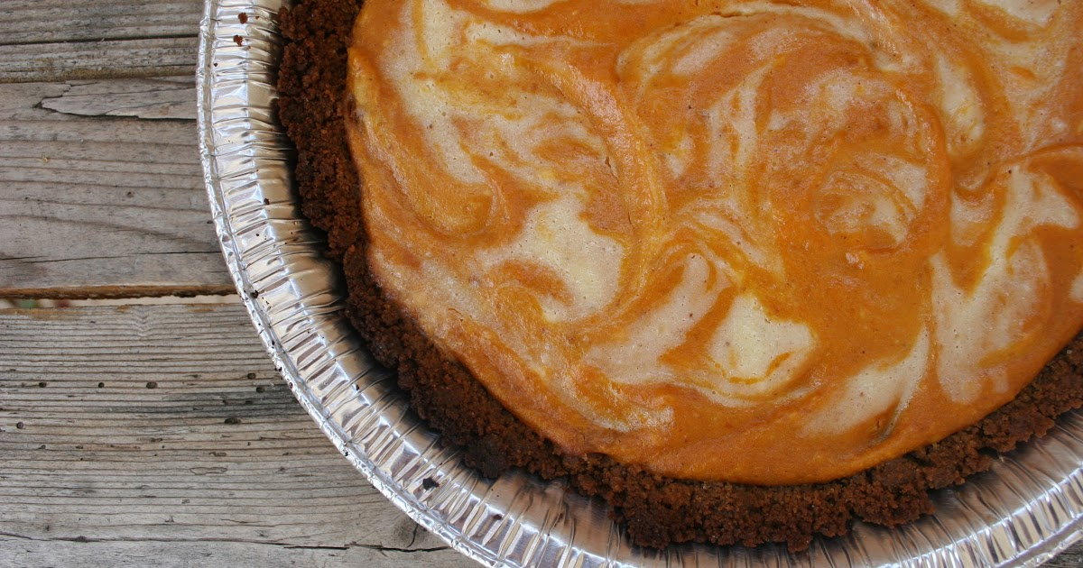 Nothing in the House: Pumpkin Ginger Cheesecake Pie ...
