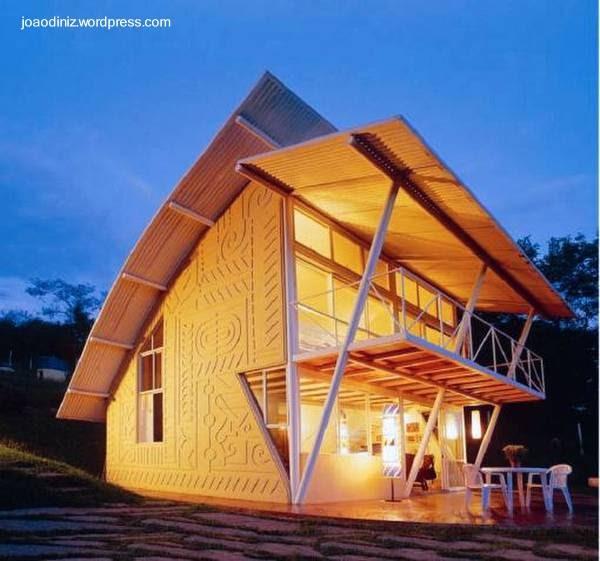 Arquitectura De Casas Caba A Peque A Tropical