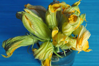 Stuffed Zucchini Blossoms