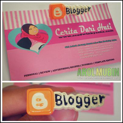 pin blogger, cerita dari hati, segmen