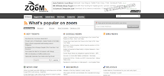 Zoom Feed Aggregator Blogger Template is a Quality rss base Blogger template