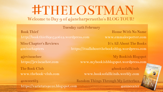The Lost Man blog tour