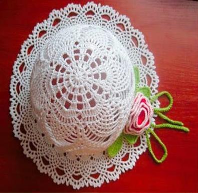crochecomreceita chapéus gráficos