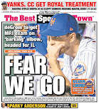 Mets take a painful back page