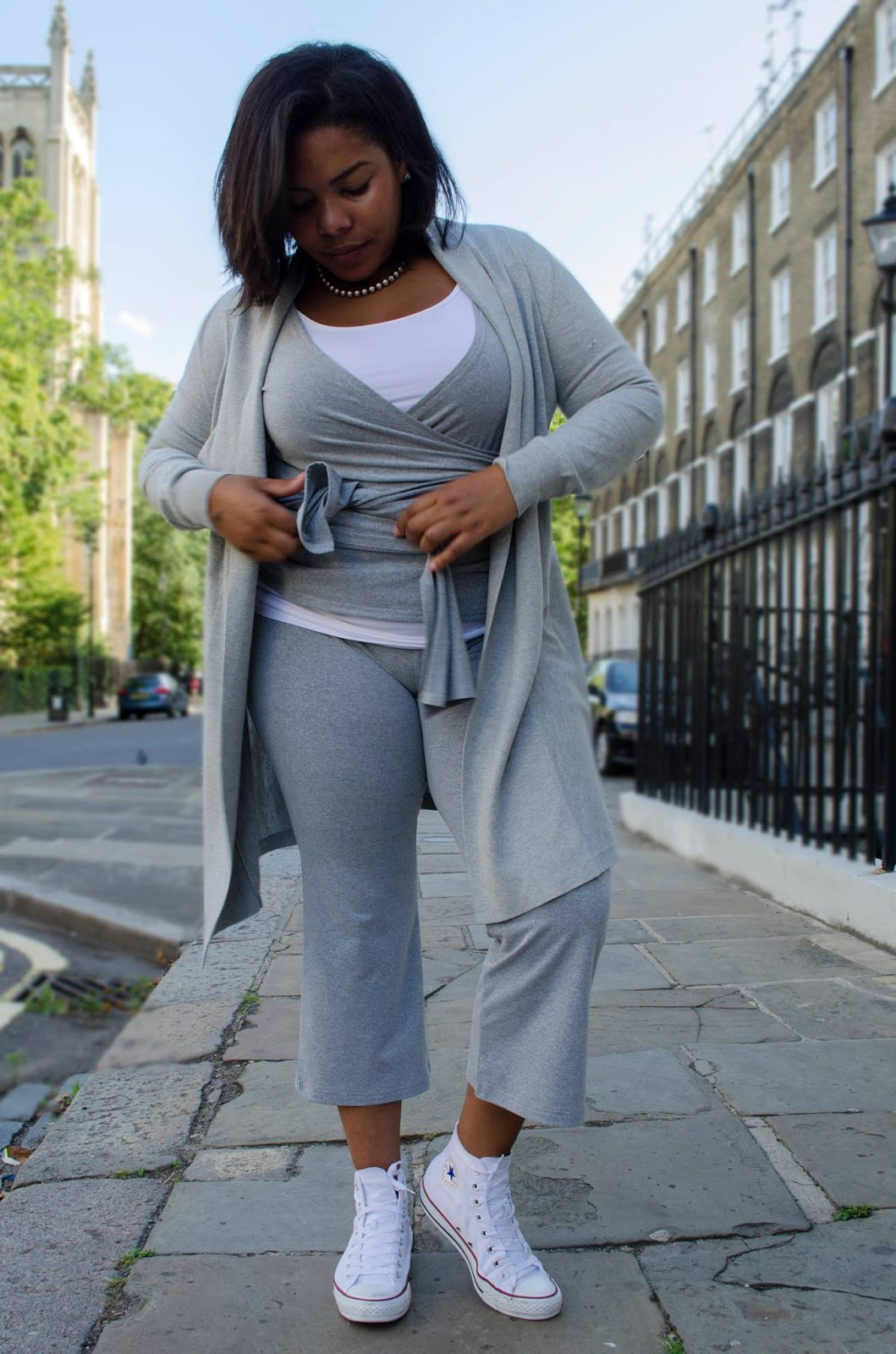luxury plus size lounge wear - chloepierreldn