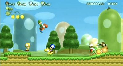 Trucos New Super Mario Bros Wii