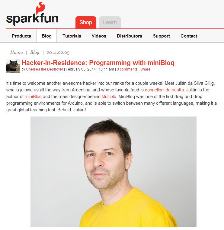 SparkFun HIR 2014