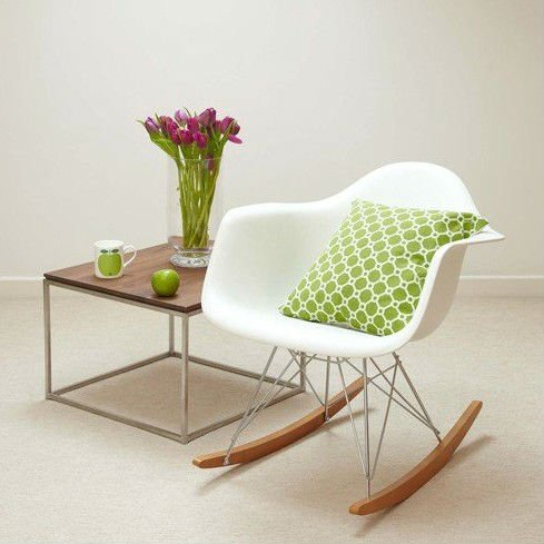 Materials+Used+Commonly+In+Interior+Design +Classic_Design_Plastic_Eames_Rocking_Chair_for