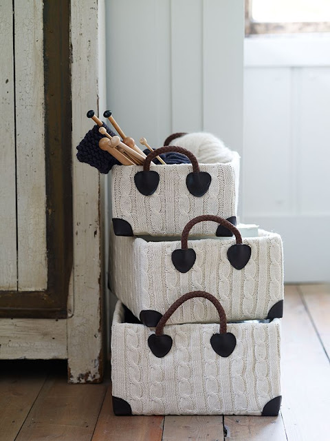 cox and cox knit storage boxes