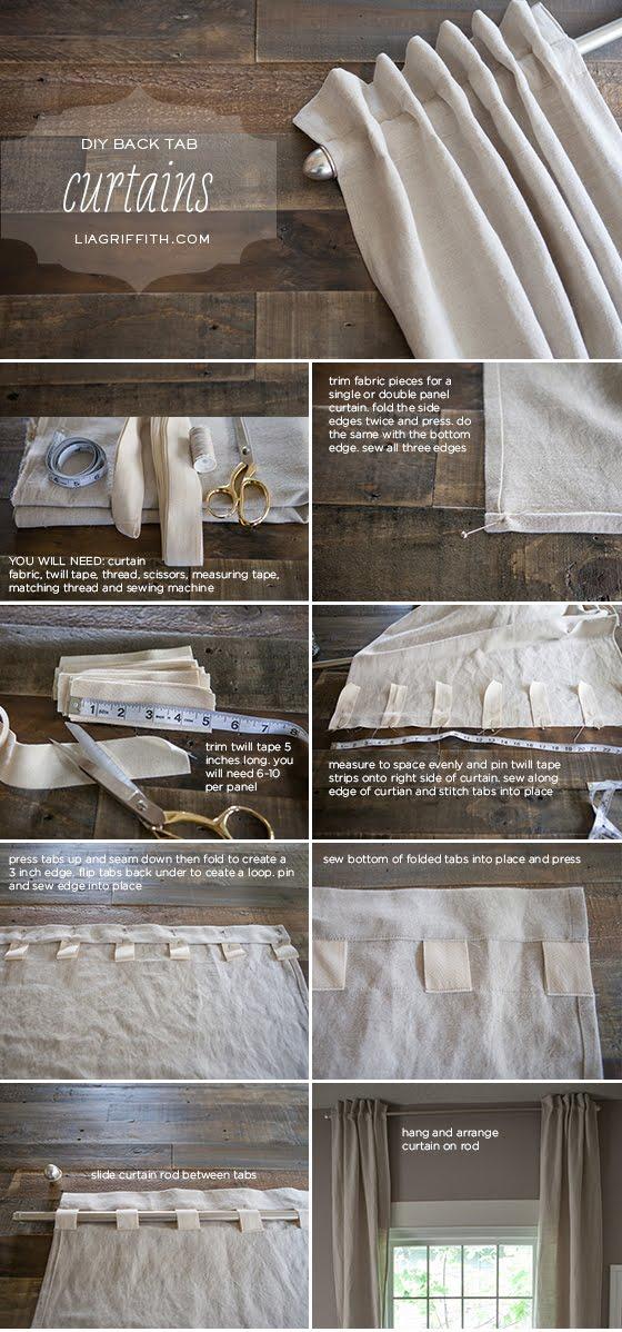 5 formas de personalizar tus cortinas que te van a - Formas de cortinas ...