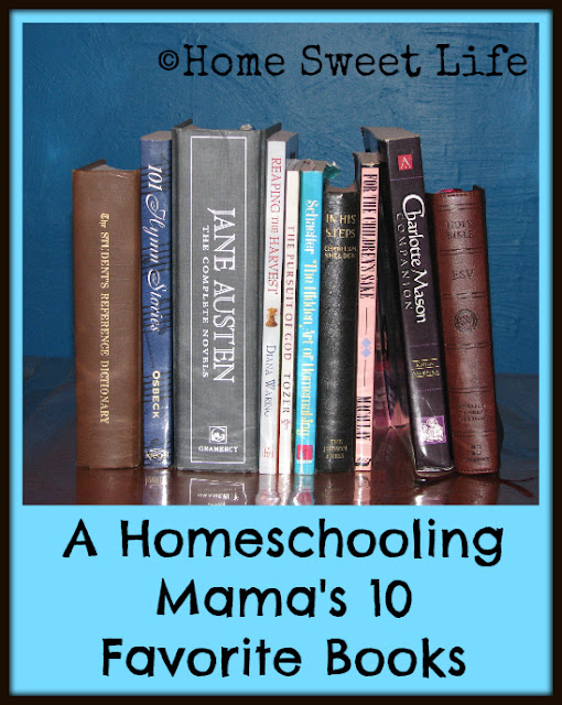 homeschooling, encouraging books, Mom's reading list