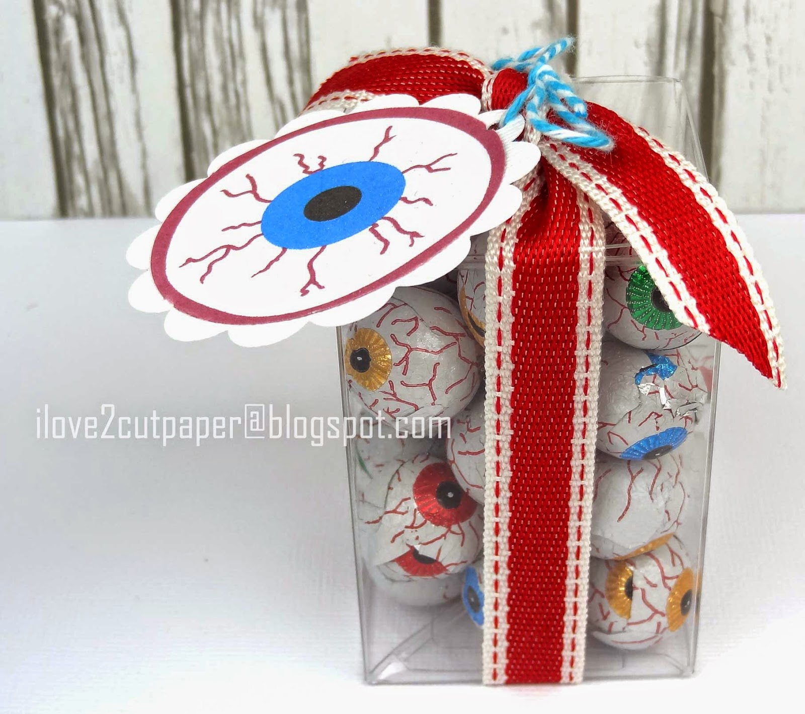 Monster eye ball party gifts