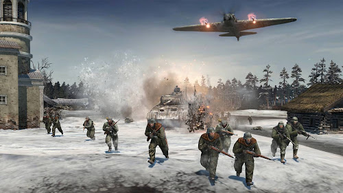 Screen Shot Of Company of Heroes 2 (2013) Full PC Game Free Download At Downloadingzoo.Com