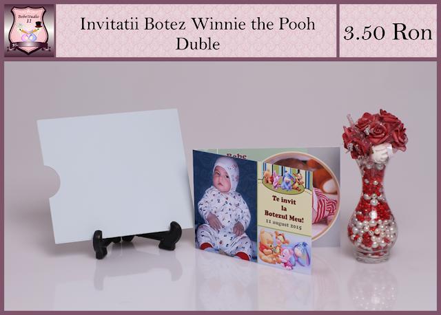 set marturii botez Winnie the Pooh