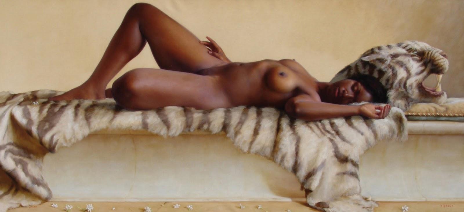 Los Desnudos Art Sticos Femeninos Paulbrown Carolina Del Norte