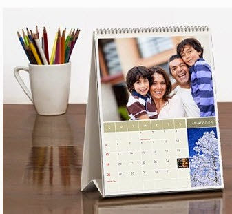 Zoomin 2015 Personalized Desktop Photo Calendar at Rs.34 – Groupon