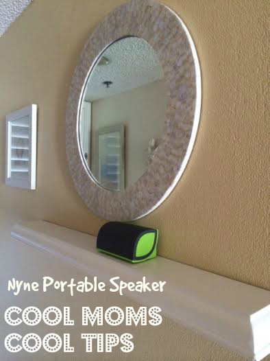 cool moms cool tips nyne portable speaker at home