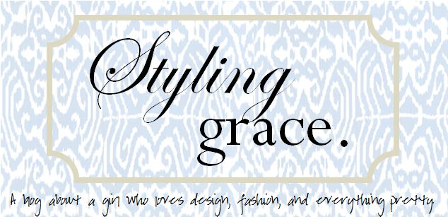 Styling Grace.
