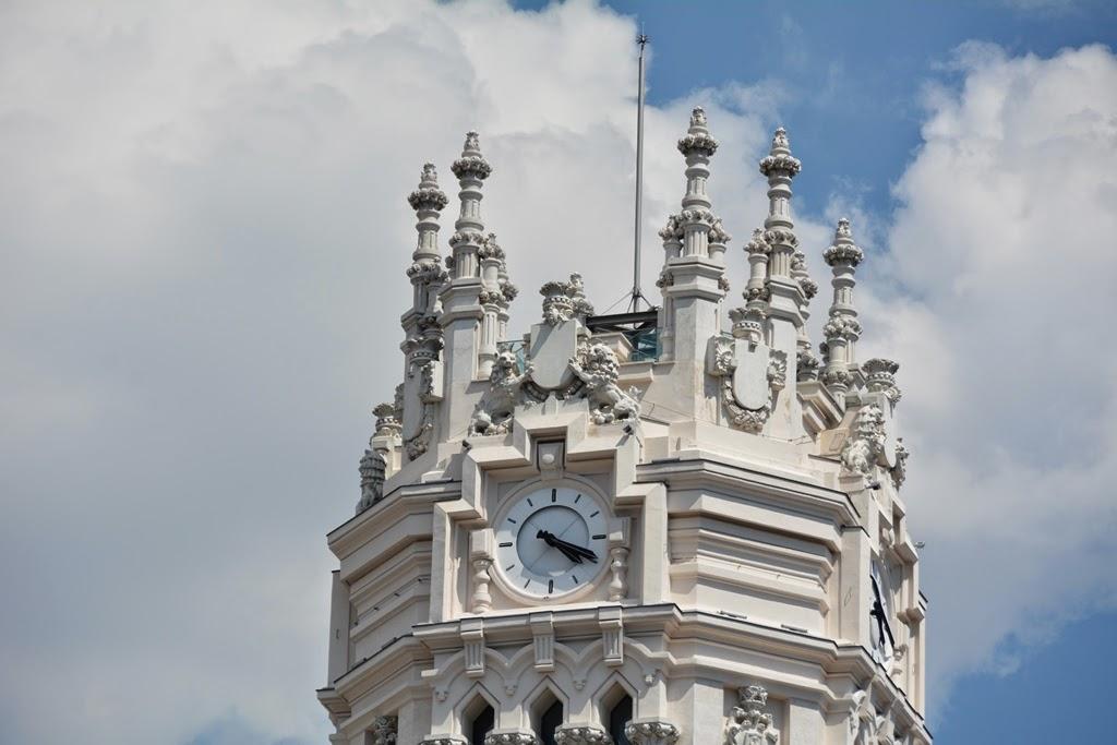 Cibeles Palace Madrid tower