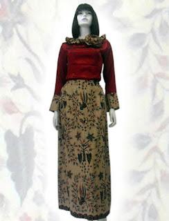 baju+batik+muslim BAJU BATIK wanita pria dan anak muda