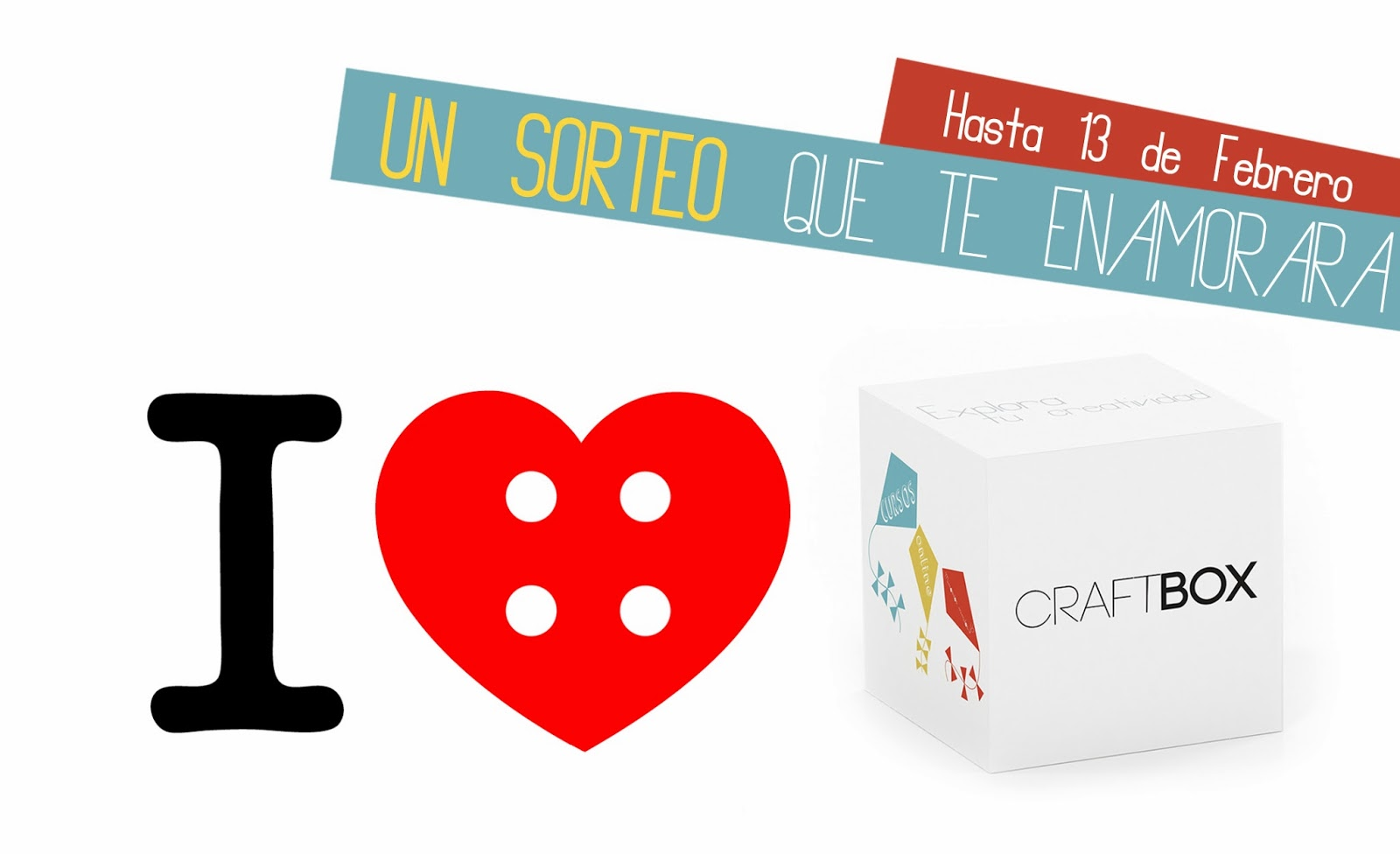 anuncio san valentin enamorados sorteo craftbox cursos online talleres gratis free blog