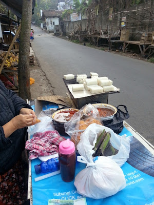 Food Street Yummy Ketan Bakar