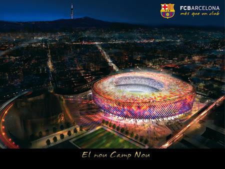 Barcelona, Catalonia, Spanyol yang telah menjadi markas FC Barcelona