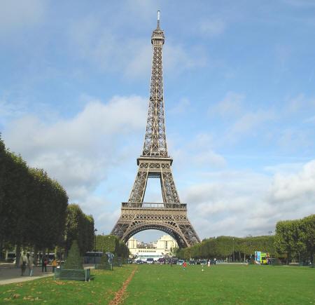 Eiffel tower paris love